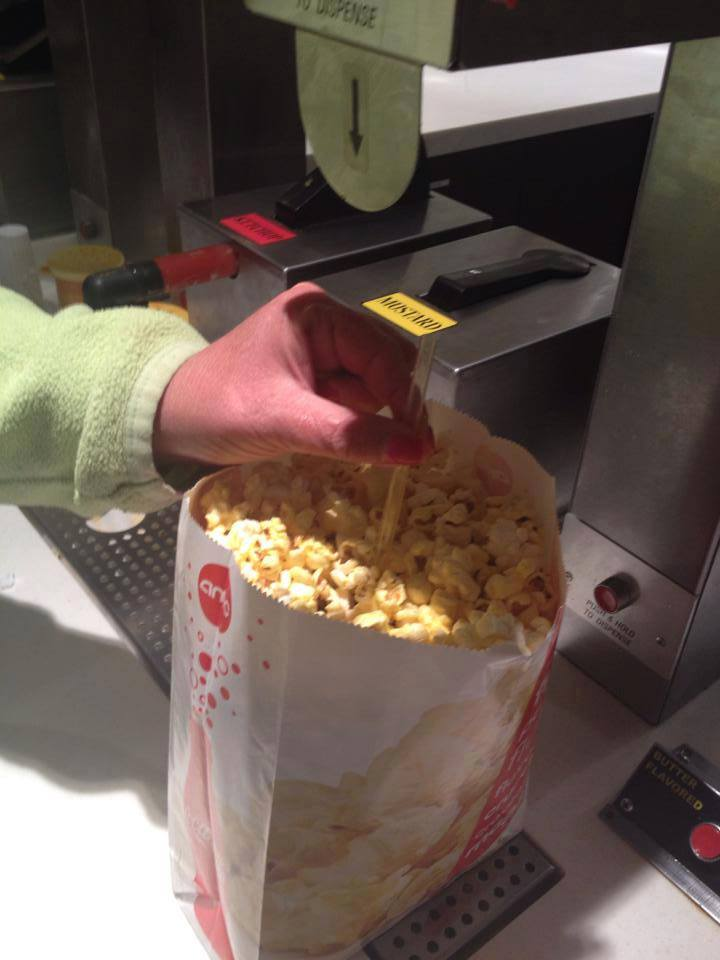 Butter Popcorn Trick