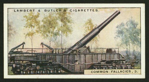 artillery fire causes rain