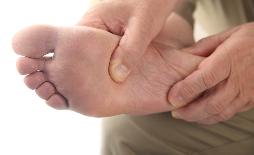 Warning Signs of RA -Pain In Balls Of Feet - #3