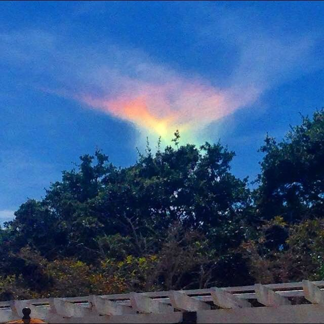 Fire Rainbow in South Carolina - #4 - on 8-19-15